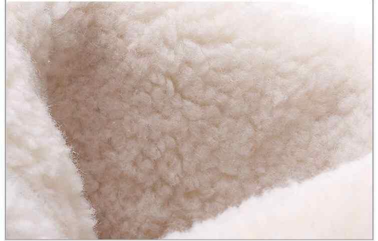 Stivali da neve per Le Donne inverno stivali piattaforma stivali di pelliccia antiscivolo impermeabile scarpe invernali della pelliccia caldo Femminile Botas Mujer botas peluche