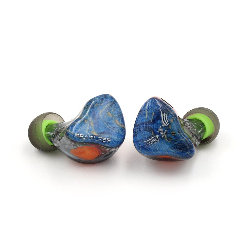 Sans peur Audio S8Z 8BA Knowles Sonion pilotes HiFi dans l'oreille écouteurs moniteur avec 0.78mm câble détachable écouteurs personnalisés