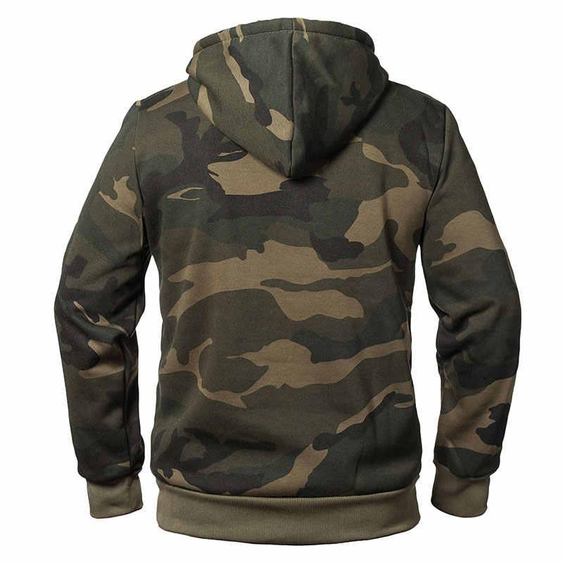 Plus Größe Hoodies Camouflage Sweatshirt Männer Hip Hop Baumwolle Trainingsanzug Schweiß Hoodies Männlichen Camo Hoody Militär Hoodie US/EUR größe