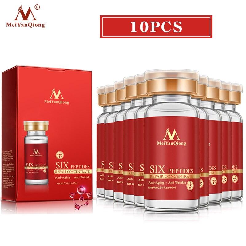 Для детей возрастом от 5 до 10 шт. крем meiyanqiong с шесть пептидов восстанавливающая эссенция, улучшает кожу сухой линии против мимических морщин...