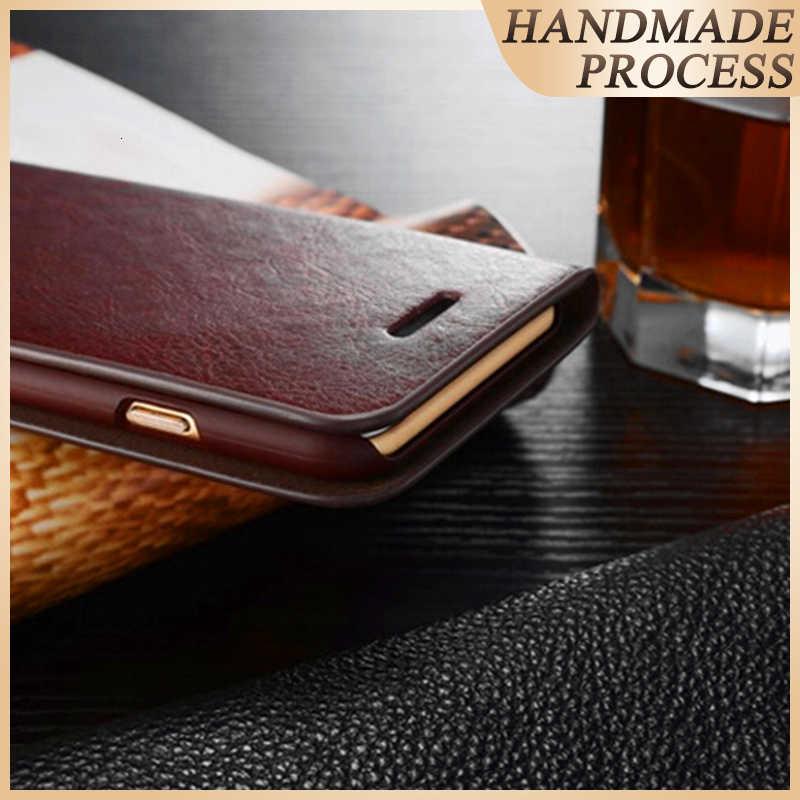 Бумажник из натуральной кожи с держателем для карт, откидной Чехол для Note 10 + Note 9 samsung NOTE 8 Note 5 S10 S10E S9 Plus S8 + Чехлы