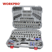 WORKPRO 164PC Tool Set Hand Tools for Car Repair Set of Tools Instruments Mechanic Tools Sockets Set Ratchet Wrenches Spanners