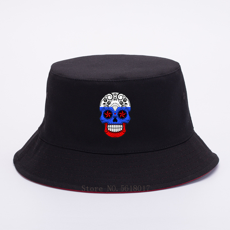Mexico Flag Sugar Skull Womens Cotton Adjustable Denim Cap Hat Baseball Cap Men Women