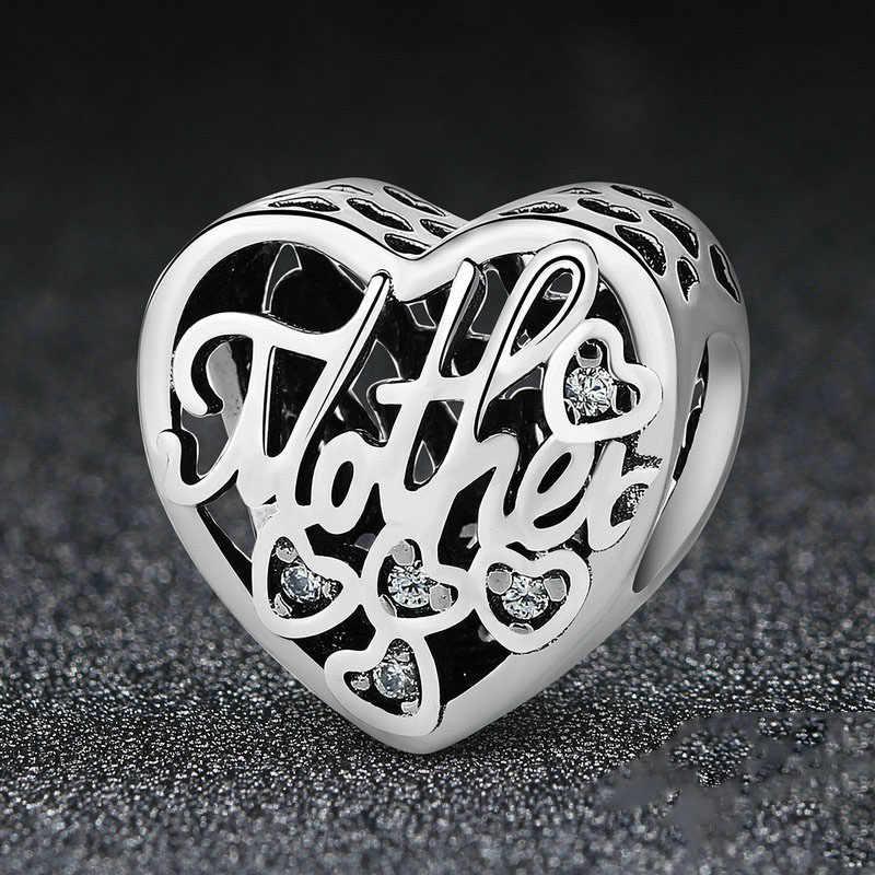 Gümüş 925 Charm ajur Mickey kabak araba boncuk fit orijinal Pandora takılar kadınlar için 925 ayar gümüş bilezik DIY takı