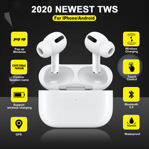 Waterproof Earbuds Charging-Case Airpodding Noise-Reduction I90000 Wireless Earphone