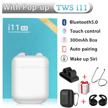 i11 TWS Wireless Bluetooth Earphones Sport Earbuds With Bluetooth5.0 Accessories Silicone Cover For i7s i30 i12