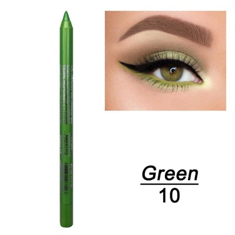 1 шт. стойкий карандаш для глаз водостойкий 14 цветов карандаш для глаз карандаш для век косметические инструменты для макияжа оптом TSLM2 - Цвет: 08