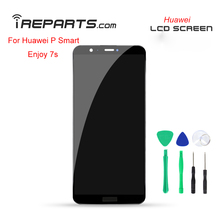 IREPARTS Screen LCD for Huawei P Smart Display Digitizer Assembly Replacement for Huawei Enjoy 7s Touch Pantalla + Free Tools white lcd display digitizer touch screen for huawei ascend p6 pantalla assembly free shipping