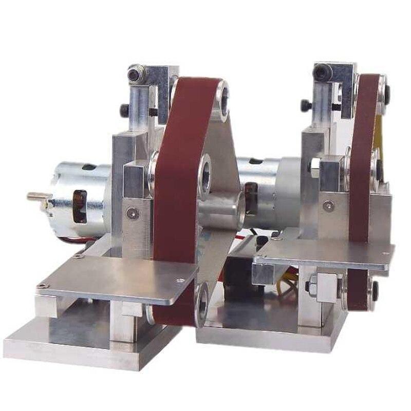 Kleine Mini Gürtel Maschine DIY Polieren Maschine Schleifen Maschine festen Winkel Schärfen Maschine Klinge Maschine Gürtel Maschine