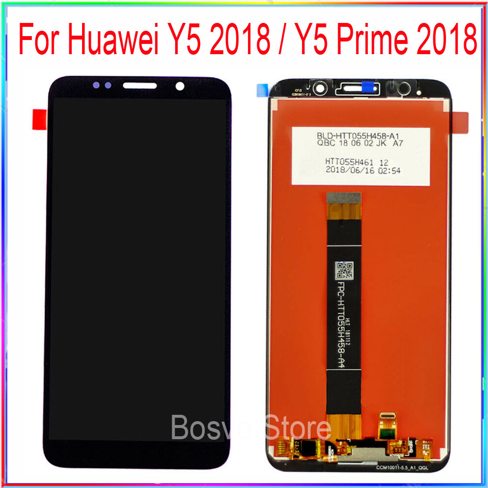 For Huawei Y5 2018 Lcd Display Touch Screen Digitizer Assembly Y5 Pro 2018  Replacement Y5 Prime