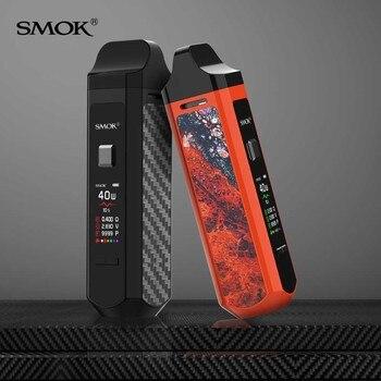 SMOK – Kit de dosettes RPM40, batterie de 1500mah, cartouche de 4.3ml RPM Mesh Coil Nord DC RPM RBA, kit de vapotage de cigarettes électroniques VS VOOPOO Vinci