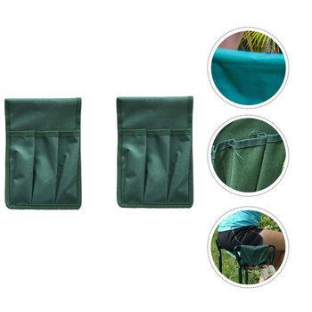 2Pc wielofunkcyjne krzesełko ogrodnicze Seat torby narzędziowe narzędzie ogrodnicze woreczki (zielony) tanie i dobre opinie CN (pochodzenie) Kneeler Bags Kneeler Pouches Kneeler Seat Bags Kneeler Seat Pouches Garden Kneeler Bags