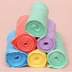 Cleaning-Waste-Bag Trash-Bags Size-Garbage-Bags Plastic Thick 1-Rolls Environmental Convenient
