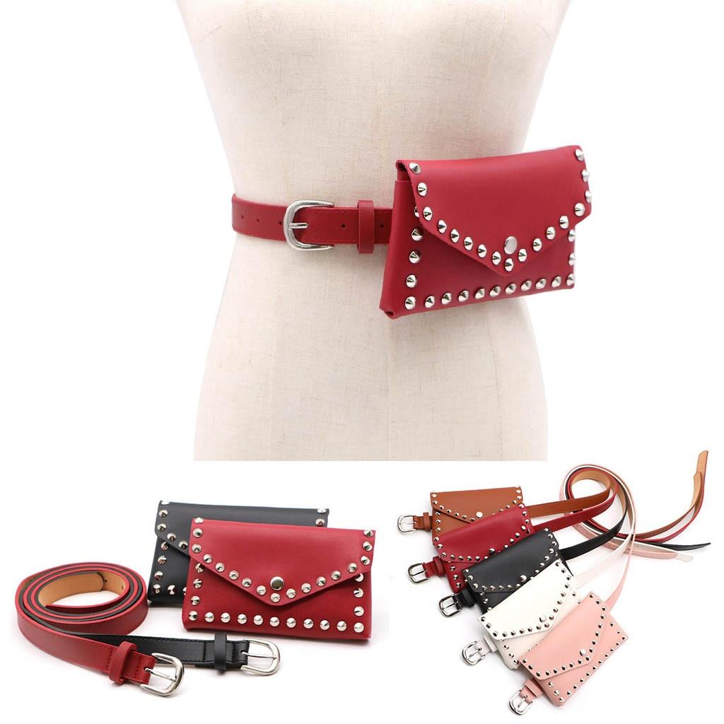 Female Belt New Brand Women Waist Pack Fanny Pack For Women Leather Waist Belt Shoulder Bag Waist Bag Women Поясная Сумка