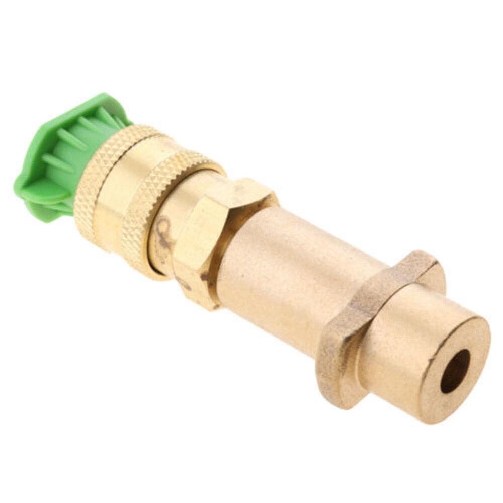 Brass 1/4 Inch Pressure Washer  Quick Connector For KARCHER K2 K3 K5 Outdoor Power Equipment Pressure Washers Accessories