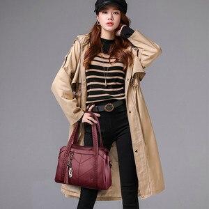 Image 3 - Miękkie oryginalne skórzane frędzle Tote luksusowe torebki damskie torebki projektant panie ręcznie torby na ramię Crossbody dla kobiet 2020 Sac