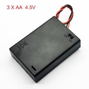 Image 1 - 3 AA 4.5V scatola portabatterie scatola batteria con interruttore nuovo 3 batterie AA 4.5V