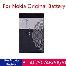 цена на BL-5C BL-4C BL-4B Battery For Nokia BL 5C BL5C BL-5B 6100 6260 6300 6136S 5070 2630 C2-01 1110i BL 4C Mobile Phone Batteries