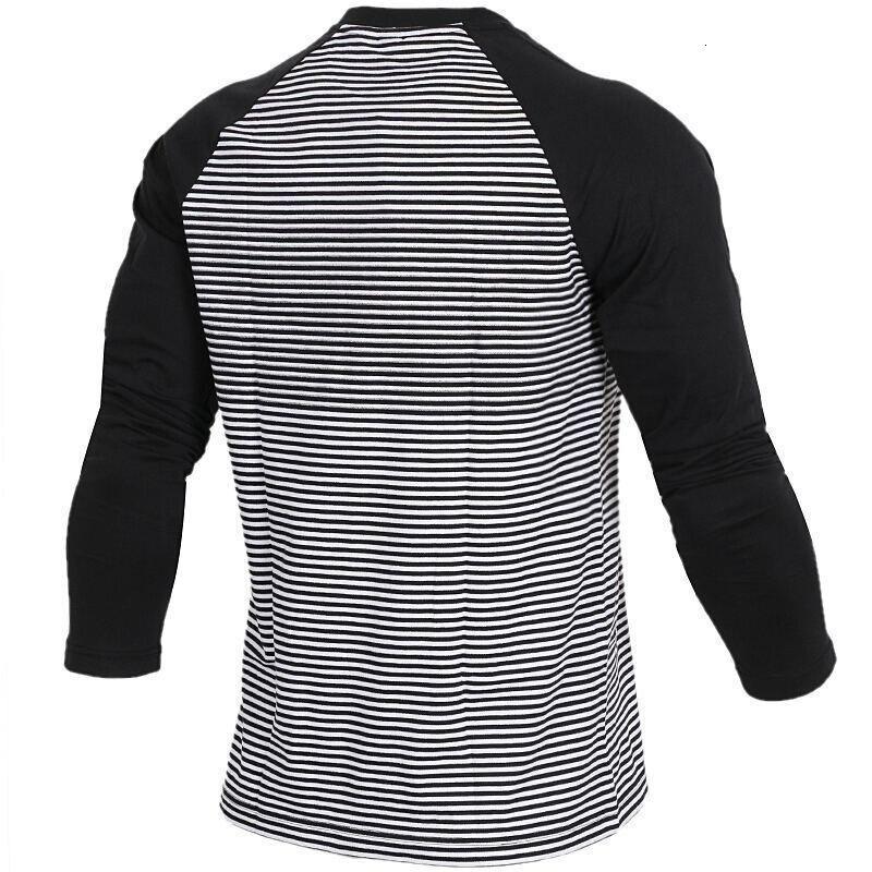 Новое поступление, оригинальные мужские футболки для бега с длинным рукавом, высокое качество, спортивная одежда CX4980 - 2