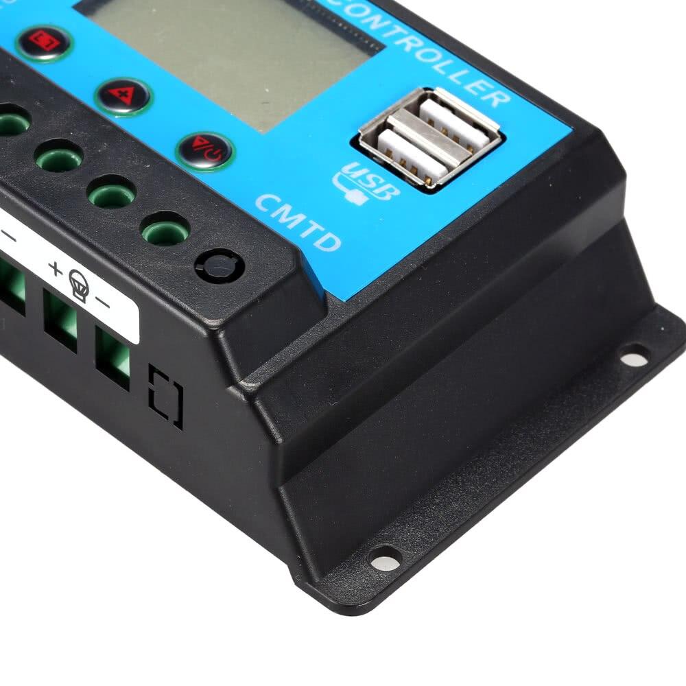 controlador de carga solar regulador automático para