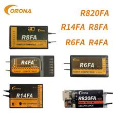 Corona R4FA R6FA R8FA R14FA 4ch 6ch 8ch 14ch FUTABA 10C 12FG 14SG 16SZ 18SZ FASST Kompatibel Empfänger
