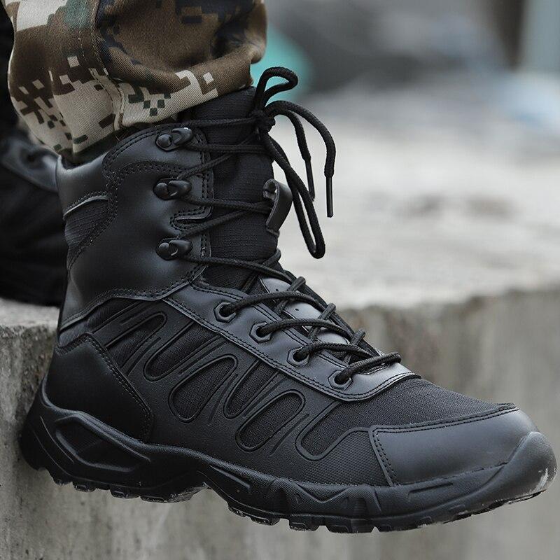 Мужская Уличная обувь, военные Легкие Армейские Ботинки, тактические ботинки-дезерты, Botas Masculina, 2019