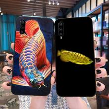 Colorful Arowana Phone Case Cover for Xiaomi Mi10 10Pro 10 lite Mi9 9SE 8SE Pocophone F1 Mi8 Lite for xiaomi pocophone f1 case slim skin matte cover for xiaomi f1 pocophone f1 case xiomi hard frosted cover xiaomi poco f1 case