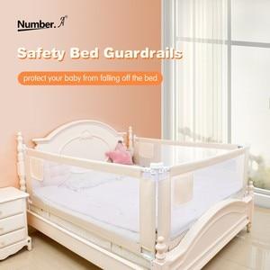 Image 2 - baby playpen bed safety rails for babies children fences fence baby safety gate crib barrier for bed kids  for newborns  infants