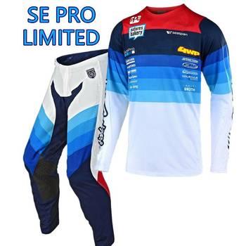 2020 SE PRO ograniczone MX spodnie i Jersey combo dla Motocross MX kombinezon wyścigowy motocykl Moto motor terenowy zestaw narzędzi tanie i dobre opinie TLDGPAIR Kombinacje Unisex spandex