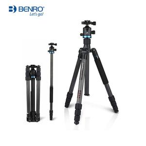 Image 1 - Benro iF18C+ Tripod Carbon Fiber Portable Reflexed Monopod Camera Stand For DSLR Carrying Bag Max Loading 10kg