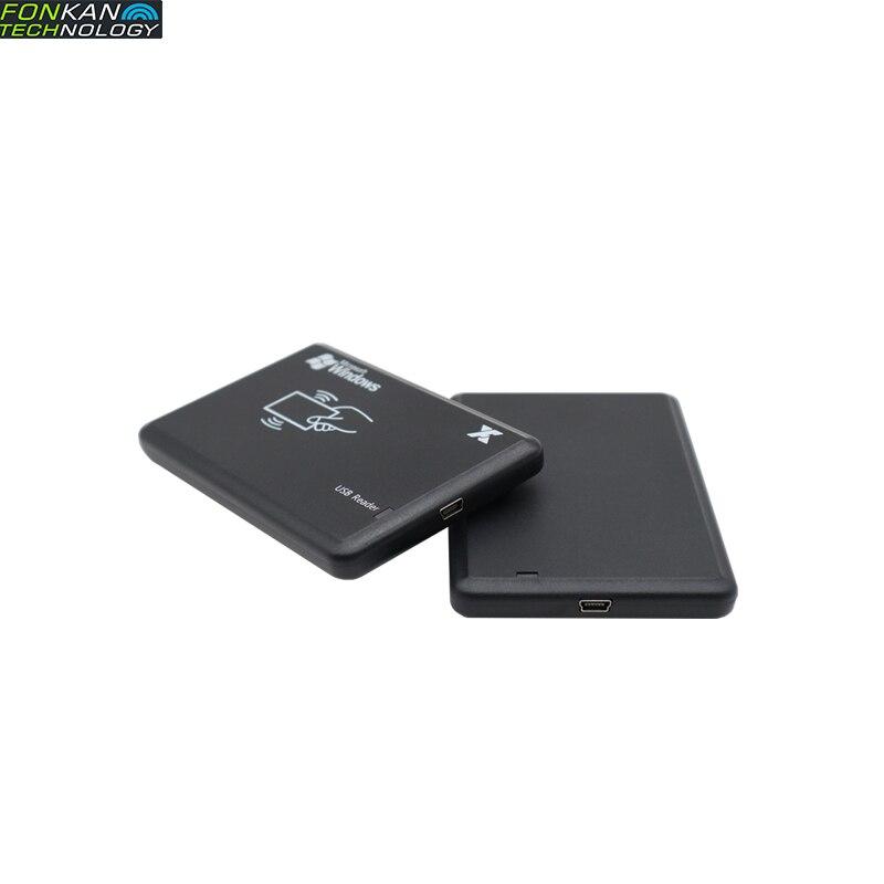 Fonkan DESKTOP_READER RFID UHF 860-960Mhz EPC C1GEN2 Card Encode Writer Reader USB Free Drive Emulation Keyboard EPC TID USER