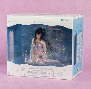 Image 5 - Yuigahama yui sentado com cadeira escola menina figura de ação modelo anime meu adolescente comédia romântica snafu pvc modelo figura brinquedo 18cm