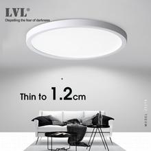 Светодиодный потолочный светильник 6 Вт 9 Вт 13 Вт 18 Вт 24 Вт современный подвесной потолочный светильник AC85-265V для кухни спальни лампы для ванной комнаты