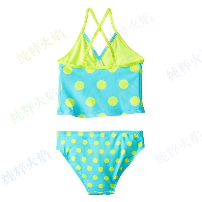 Amazon New Style KID'S Swimwear Girls Sports Swimsuit Set