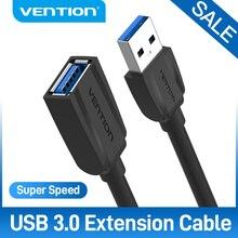 Chính hãng Vention Cáp Nối Dài USB 3.0 USB 2.0 Cáp USB Nam đến Nữ Dữ Liệu Dây cho Smart TV PS4 Xbox One MÁY TÍNH Cáp Nối Dài USB 3.0
