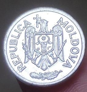 16 мм молдовская, 100% настоящая памятная монета, оригинальная коллекция