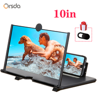 Orsda 10-inch HD 3D Mobile Phone Screen Amplifier Universal Video For Iphone Samsung Huawei Millet Phone Stand Screen 1