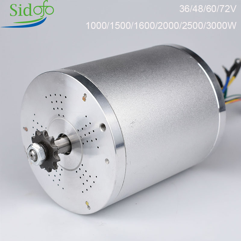 KRMY1020 Electric Bicycle Motor Accessories Brushless 36V 48V 72V 1000W -3000W BLDC Scooter eBike Engine Modifications DIY