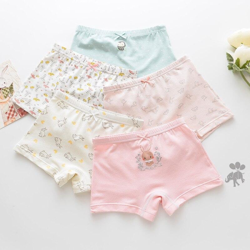 5 Pcs/lot Baby Underwear Girls Panties Panty Boy's Underwears Children Cotton Kids Cartoon Briefs Boys Underpants Child Girl