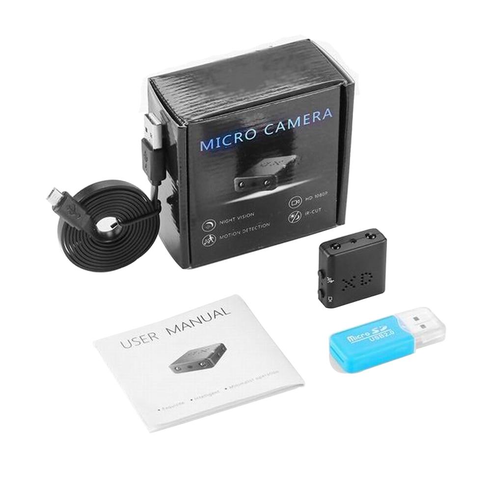 1080P Full HD XD IR-CUT Mini Câmera Menor Câmera Filmadora de Visão Noturna Infravermelha Micro Cam Detecção de Movimento DV entrega Rápida