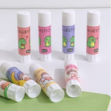 Glue-Stick Stationery Craft School-Supplies Strong Cartoon Solid for Student DIY High-Viscosity