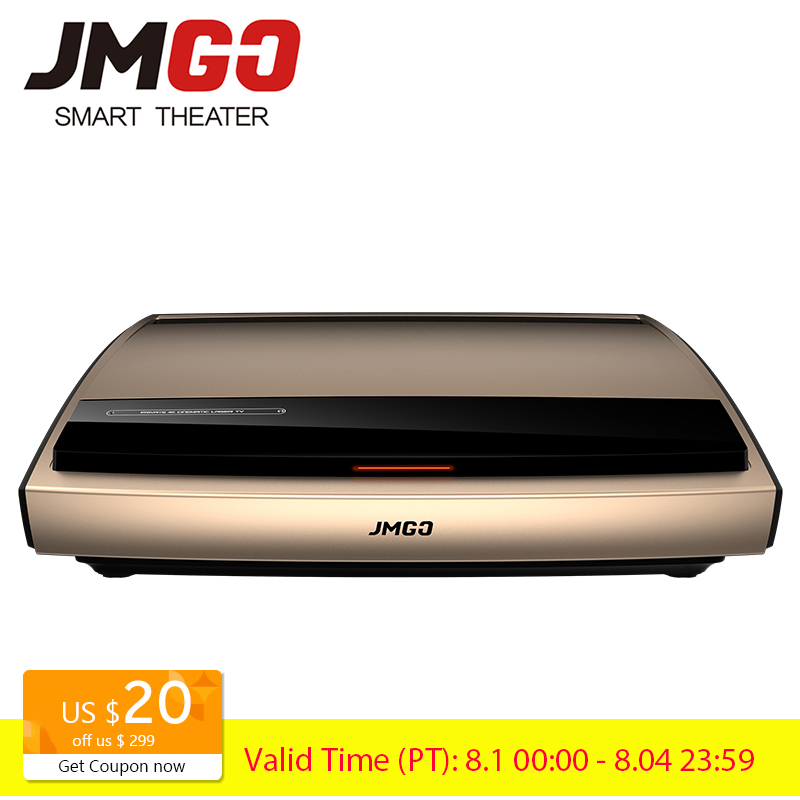 JMGO 4K Laser Projector S3 3840x2160dpi 3000 ANSI Lumens 300 Inches Huge Screen for Home Cinema