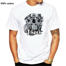 Summer 2019 Short Sleeve Plus Size NEW Yam Vmax Engine Motorcycle T-SHIRT MAN WOMAN Fashion Classic
