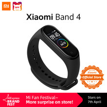 Xiaomi Mi Band 4 Global Versie Smart Horloge 135 Mah Hartslag Fitness Tracker Sport Waterdichte Smartband Kleurrijke Touch screen(China)