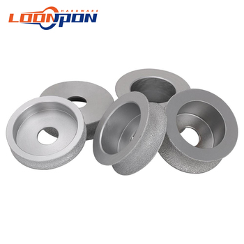 75mm Brazed Diamond Grinding Disc of Half-Round Edge Used Dry or Wet 15mm/20mm/25mm/30/35mm - discount item  36% OFF Power Tools