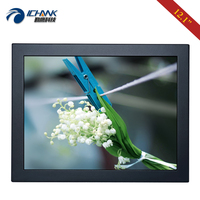 ZB120TN 592/12.1 inch 1024x768 AV BNC HDMI VGA Metal Shell PC Monitor LCD Screen Display USB Port Pluggable U disk Video Player