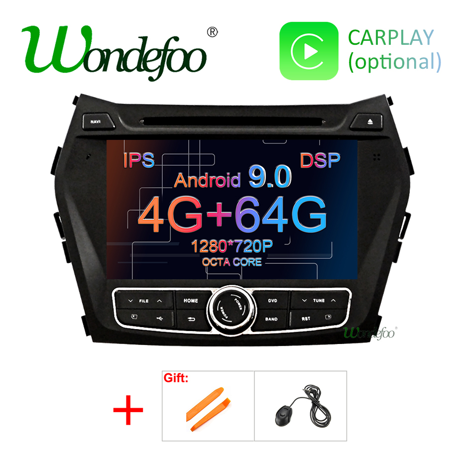 DSP 4G 64G Android 9 0 IPS SCREEN AV Output CAR DVD PLAYER For Hyundai IX45