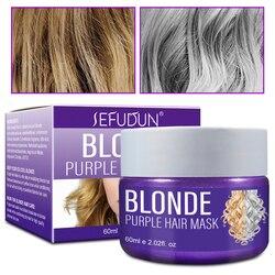 5 segundos reparação máscara de cabelo tratamento hidratante manteiga copo flexível condicionador contra frizzy suave cabelo tratamento 60ml tslm1