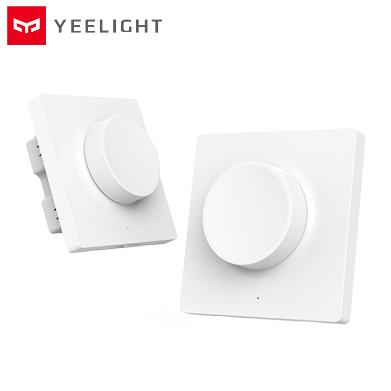 Yeelight Intelligent Bluetooth Dimmer Switch 5 In 1 Control Wireless Smart Remote Control Wall Switch For Yeelight Ceiling Light