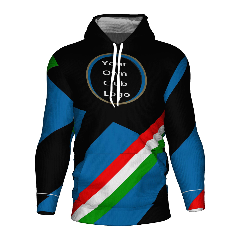 Fc <font><b>Inter</b></font> <font><b>Milan</b></font> <font><b>Soccer</b></font> Jersey 2018 2019 Football 3d Hoodie Sweatshirt <font><b>Inter</b></font> <font><b>Milan</b></font> Tracksuit Costume Training Kit Football Hoodies image